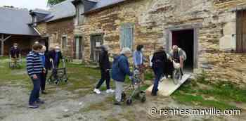 Chartres-de-Bretagne. Des résidents de l'Ehpad visitent La Marionnais - maville.com