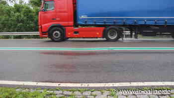 Verkehr in Oberspreewald-Lausitz: Gefährliche Dellen auf B 169 bei Senftenberg - Lausitzer Rundschau
