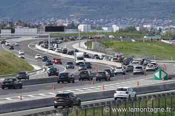 Accident en cours sur l'A71 à hauteur de Riom (Puy-de-Dôme) - La Montagne
