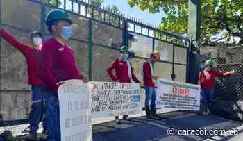 Cinco días de paro en mina en Muzo, Boyacá - Caracol Radio