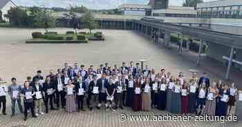 Abiturzeugnisse am St.-Michael-Gymnasium in Monschau verliehen - Aachener Zeitung
