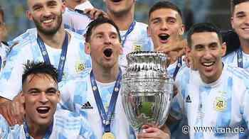 Fussball - HIGHLIGHTS: Copa-Sieg! Di Maria erlöst Messi - Neymar weint - RAN