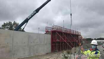 Gravelines: la digue de 3km autour de la centrale sera terminée début 2022 - La Voix du Nord