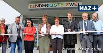 """Zeuthen: Kita-Neubau """"Kinderkiste Zwei"""" feiert Eröffnung - Märkische Allgemeine Zeitung"""