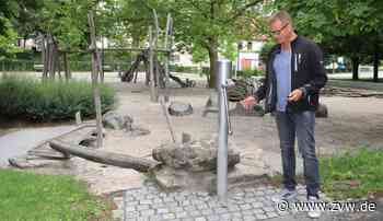 Kernen: Warum die Spielplatz-Wasserpumpe im Schlosspark weitere Monate defekt bleibt - Kernen - Zeitungsverlag Waiblingen - Zeitungsverlag Waiblingen