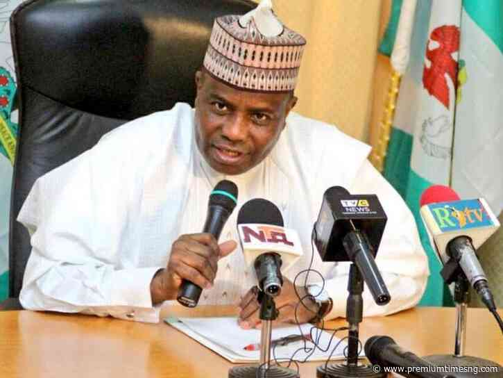 Blasphemy: Tambuwal appeals for calm in Sokoto after suspect's arrest - Premium Times