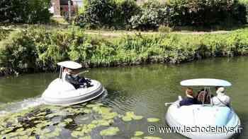 Piloter un bateau comme un jeu vidéo, à Aire-sur-la-Lys - L'Écho de la Lys