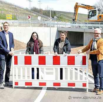 Radweg Lauffen-Brackenheim ist fertig - STIMME.de - Heilbronner Stimme