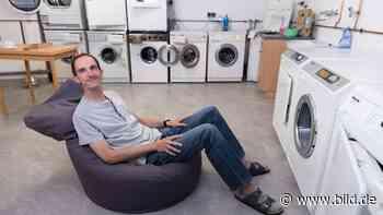 Radevormwald: Er hat 27 Stück - Stefan ist der Herr der Waschmaschinen | Regional - BILD