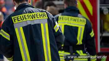 Feuerwehreinsatz in Stuhr: Brandgeruch durch Flexarbeiten - WESER-KURIER - WESER-KURIER