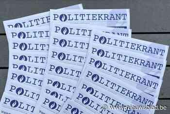 """Politiezone brengt eigen krant uit: """"Zodat alle burgers zich goed kunnen informeren"""" - Het Nieuwsblad"""