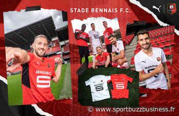 Puma dévoile les nouveaux maillots du Stade Rennais FC pour la saison 2021-2022 - SPORTBUZZBUSINESS