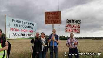 200 manifestants rassemblés à Cernay contre le projet d'éoliennes - France Bleu