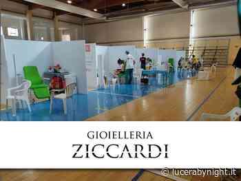 lucerabynight.it - Vaccinazioni: numeri record a Lucera. Finiscono i moduli e viene in soccorso la gioielleria Ziccardi - lucerabynight.it