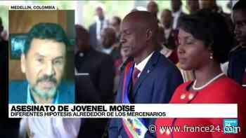 """John Marulanda: """"Hay un entramado político y económico detrás del magnicidio de Jovenel Moïse"""" - FRANCE 24"""