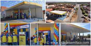Posto Santa Helena II é inaugurado no centro da cidade de Jacobina do Piauí. Veja fotos! - Cidades em Foco
