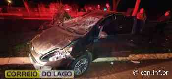 Acidente de trânsito é registrado em Santa Helena - CGN
