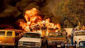 54 Grad im Death Valley: Hitze und Brände setzen US-Bürgern zu - n-tv NACHRICHTEN
