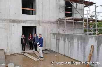 Neues Gemeindezentrum in Wendlingen - Der Rohbau des Johannesforums steht - esslinger-zeitung.de