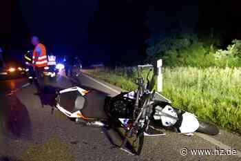 Unfall bei Gerstetten: Auto überfährt Hund, Motorradfahrerin prallt gegen Pkw - Heidenheimer Zeitung
