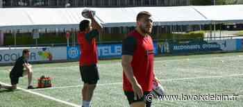 """Rugby Pro D2 - Teddy Durand : """"Franchement, je ne connaissais pas Oyonnax"""" - La Voix de l'Ain"""
