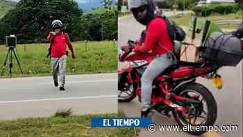 En video: amenazan a operarios de fotomulta en el Cesar - El Tiempo