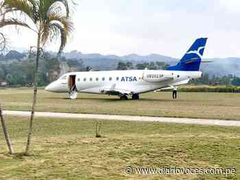 Jet bimotor aterriza por error de coordenada en aeródromo de Bellavista - Diario Voces