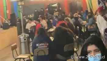Descubren tocata con cerca de 70 personas en Barrio Bellavista - 24Horas.cl