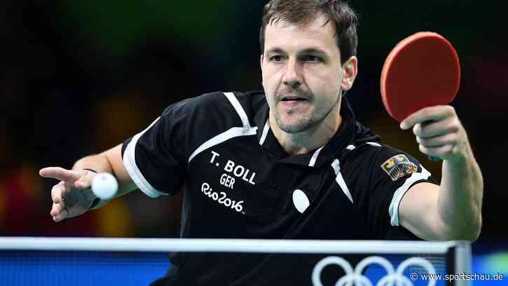 Tischtennis-Ass Boll an der Hüfte verletzt - sportschau.de