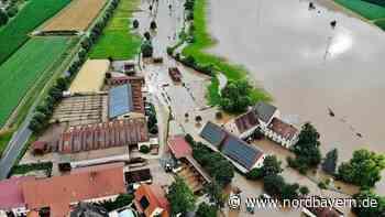 Überschwemmungen in der ganzen Region: Die Bilder zum Unwetter - Nordbayern.de