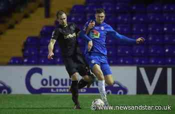 Former Carlisle United striker joins EFL new boys Sutton United | News and Star - News & Star