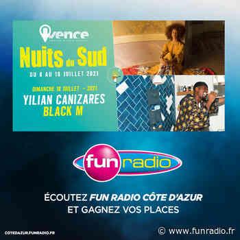 Black M à Vence - Fun Radio