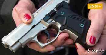 Immer mehr Frauen im Kreis Rastatt beantragen kleinen Waffenschein - BNN - Badische Neueste Nachrichten