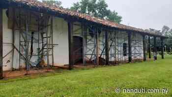 Lamentan tardanza en la restauración del templo San Joaquín   Ñanduti - Radio Ñanduti