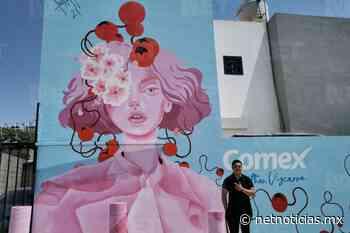 Artista embellece Pradera de los Oasis con 'La Mujer de Lisboa' - Netnoticias