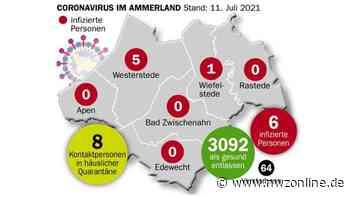 Corona-Zahlen: Zwei Neuinfektionen am Wochenende in Westerstede - Nordwest-Zeitung