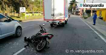 Motociclista murió en La Españolita, en Piedecuesta - Vanguardia