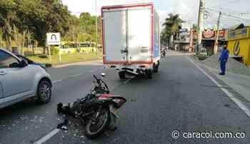 Falleció motociclista vía a Piedecuesta - Caracol Radio