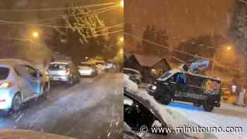 Cristina Kirchner compartió un video de los festejos en El Calafate en medio de la nieve - Minutouno.com