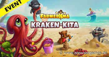 Farmerama: Kraken-Kita-Event startet heute Abend - Browsergames.de