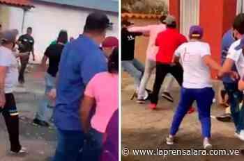 Seguidores del Psuv en Barinas se enfrentaron a golpes - La Prensa de Lara