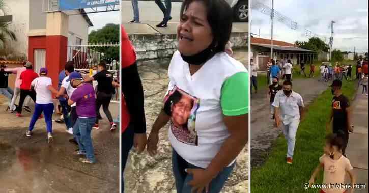 Graves enfrentamientos entre facciones chavistas que se disputan la gobernación de Barinas - infobae