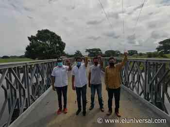 Gobernación construye puente sobre el caño San Rafael de Barinas - El Universal (Venezuela)