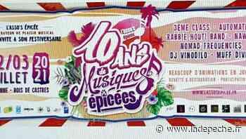 Festiversaire : un festival gratuit sur deux soirs à Carbonne - ladepeche.fr