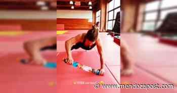Video: así entrena la Peque Pareto desafiando la gravedad - mendozapost.com