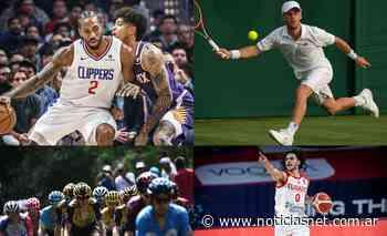 Agenda deportiva: el Peque en Wimbledon, Tour de France, NBA y FIBA Preolímpico - NoticiasNet