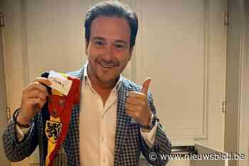 """Burgemeester Francesco Vanderjeugd heeft zijn sjerp terug: """"Dit vraagt moed"""""""