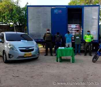 Hallan en Atlántico camión robado en San Juan Nepomuceno, Bolívar - El Universal - Colombia