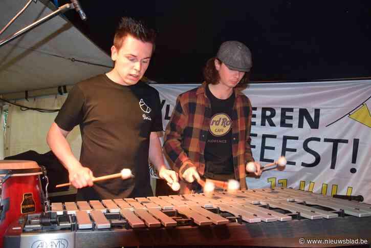 Loop Percussion Duo speelt een thuismatch