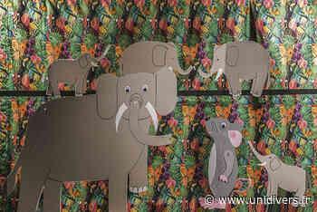 L'éléphant au pays des souris Jardin du Cloître - Unidivers